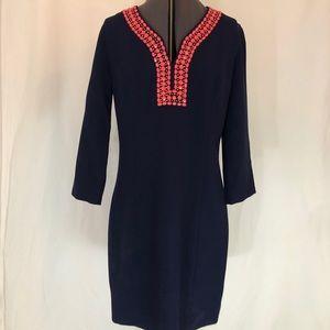 Lily Pulitzer Long Sleeve Dress Sz 12